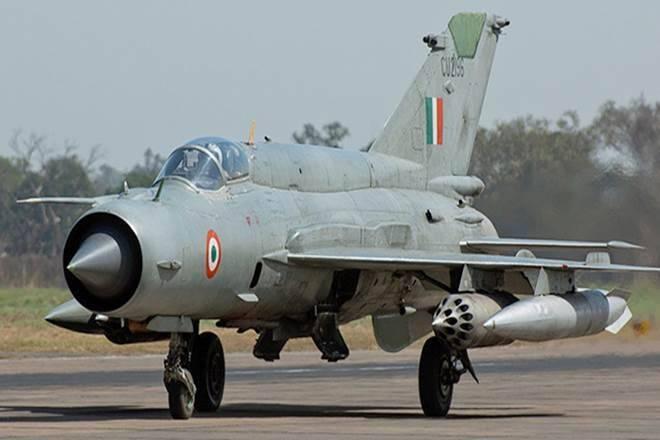 IAF MiG-21 fighter jet crash, fighter jet crash, MiG bison crash, MiG bison crash Suratgarh Rajastha