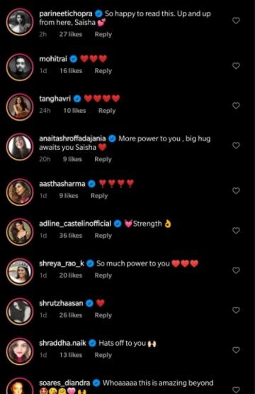India Tv - Comments on Saisha Shinde's post