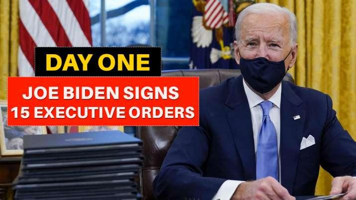 Joe Biden day 1