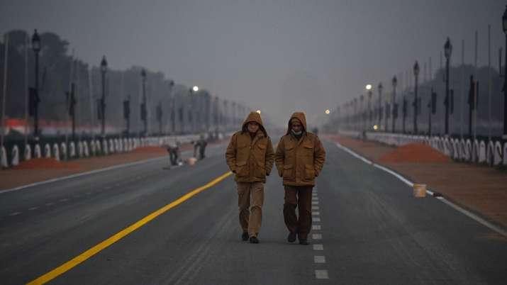 Delhi's minimum temperature dips