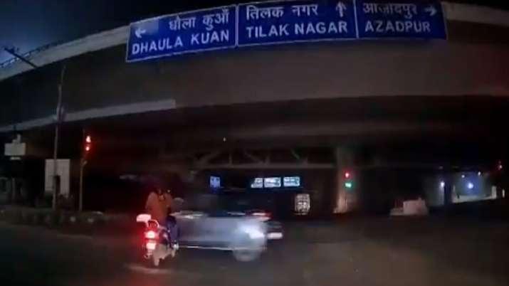 Delhi, Rajouri Garden, Hit and run case