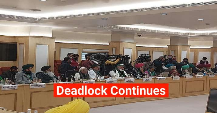 Deadlock between the Government and farmer unions over the