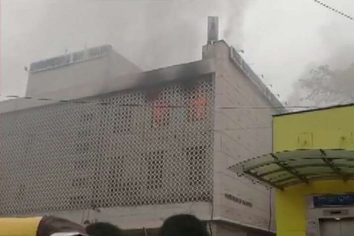 Fire breaks out in building at Delhi's ITO area