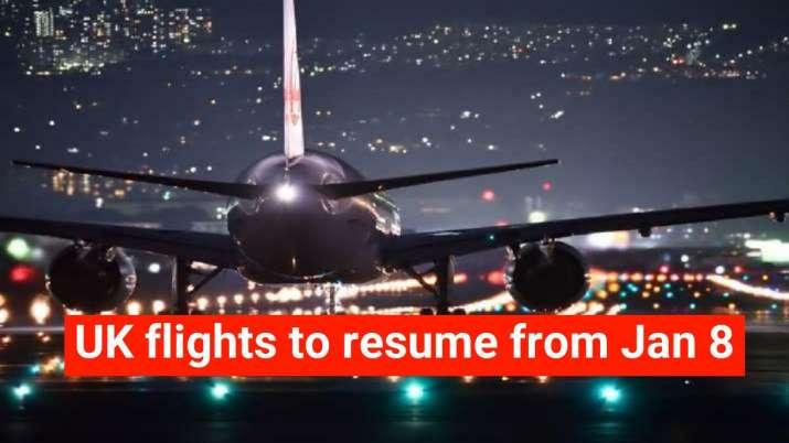India UK flights resume date