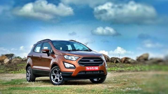 Ford EcoSport price reduced by up to Rs 35k, offers sunroof in Titanium trim   Check variants, price