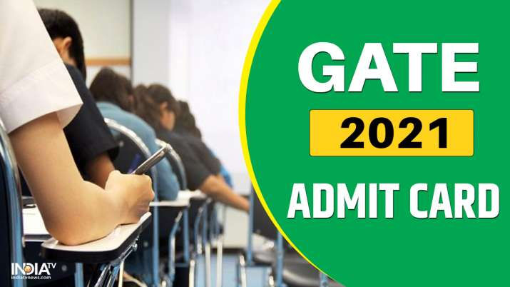 GATE 2021 Admit Card: IIT Bombay to release GATE 2021 hall