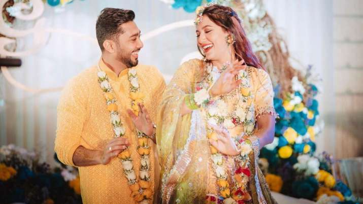 Gauahar Khan pens mushy note as her wedding with Zaid Darbar turns one month old