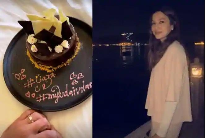 India Tv - Gauahar Khan, Zaid Darbar honeymooning in Udaipur