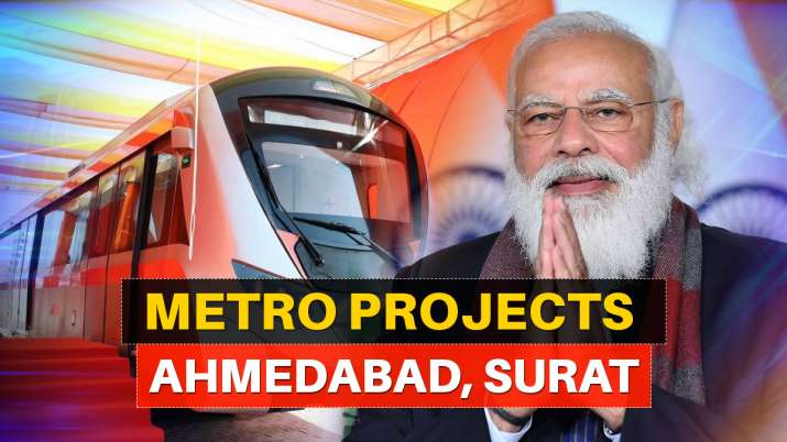 PM to perform ground-breaking ceremony for Ahmedabad, Surat metro projects today