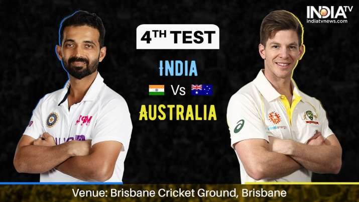 Ind vs Aus LIVE, India vs Australia 2021 4th Test Day 5