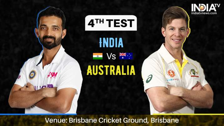 Ind vs Aus LIVE, India vs Australia 2021 4th Test Day 3