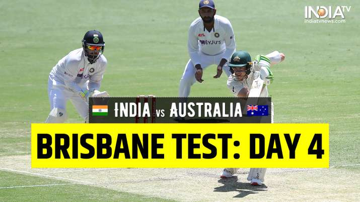 Live Cricket Score India vs Australia 4th Test Day 4: Follow Live Updates from Brisbane thumbnail