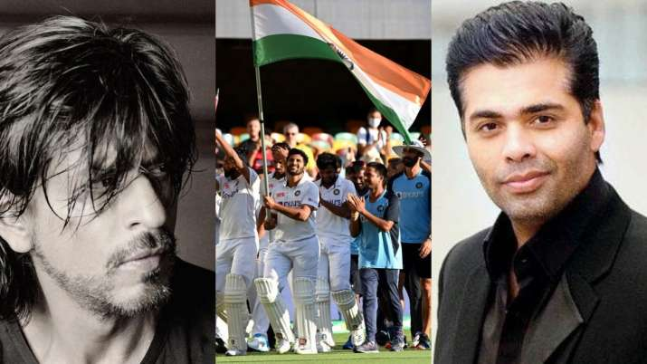 SRK, Kartik Aaryan to Karan Johar, Bollywood celebs rejoice after team India's historic win in Austr
