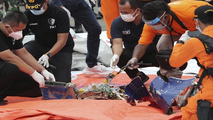 Indonesia's crashed plane likely ruptured when hitting waters: Chief investigator