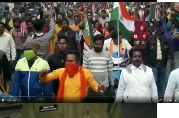 3 BJP activists arrested for raising 'goli maro...' slogan in West Bengal   WATCH