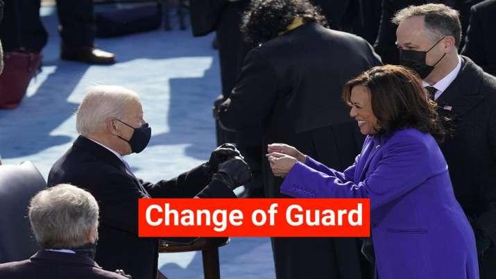 US President Joe Biden and Vice President Kamala Harris at