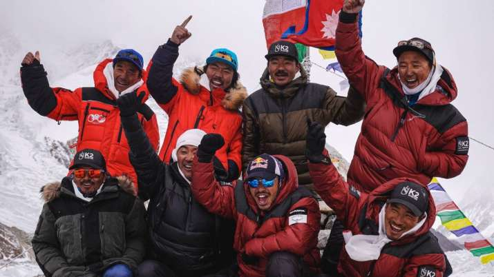 Nepalese mountaineers k2