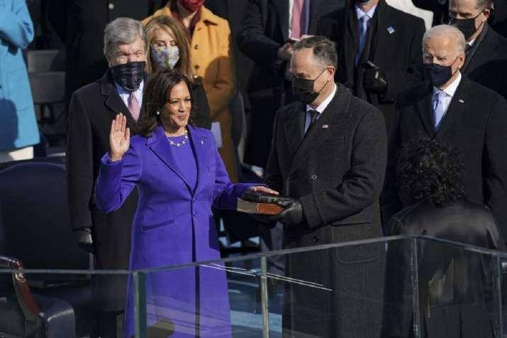 United States Vice-President Kamala Harris