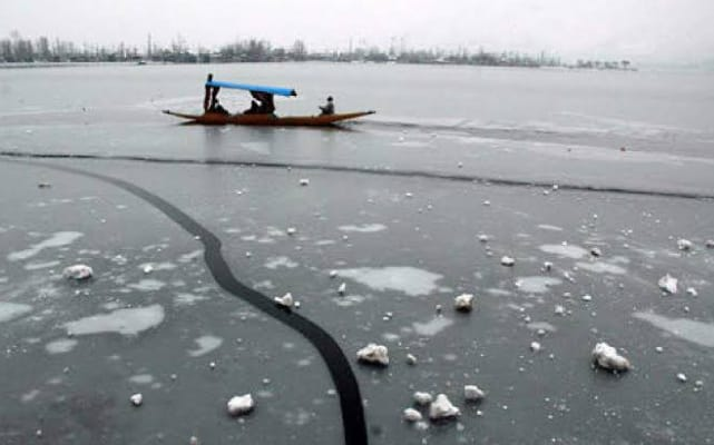 Srinagar records lowest minimum temperature in 30 years at minus 8.8°C