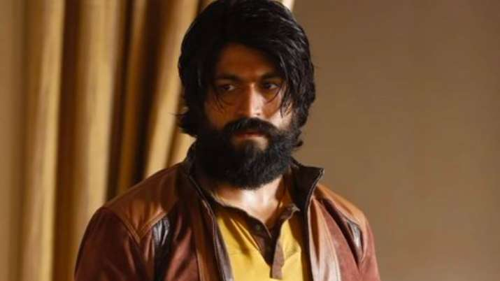 A still of Yash from KGF Chapter 2 teaser