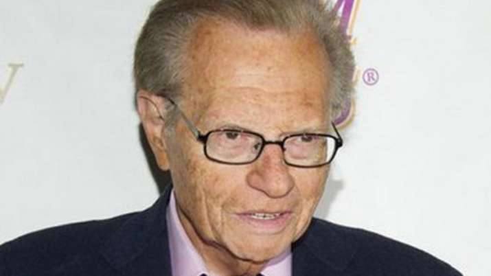 Veteran US broadcaster Larry King in hospital with COVID