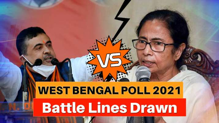 Battle lines drawn: Mamata Banerjee announces to contest Bengal polls from Suvendu's stronghold Nandigram thumbnail