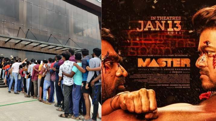 Fans forget social distancing to advance-book tickets of Vijay and Vijay Sethupati's next 'Master'