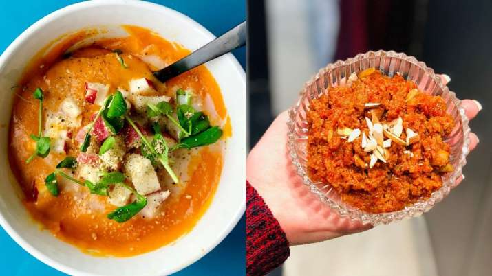Soup to Gajar Halwa, 5 healthy snacks to satisy your midnight cravings sans guilt!