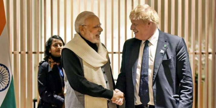 G7 Summit UK PM Boris Johnson invites PM Modi June