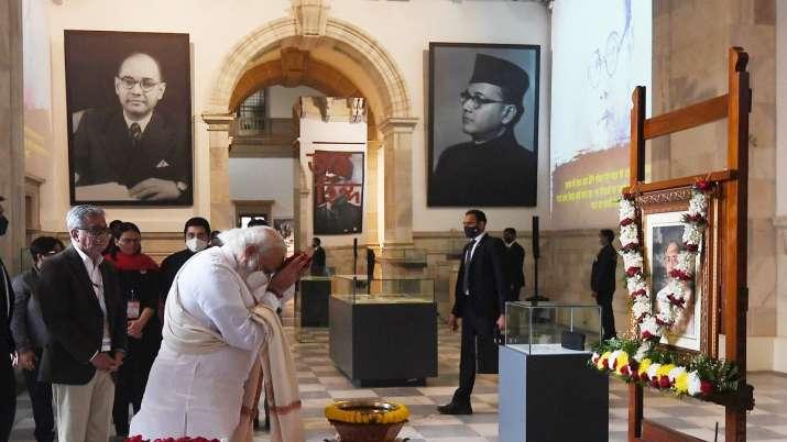 India Tv - PM Modi, Victoria Memorial Hall, Subhas Chandra Bose, Subhas Chandra Bose, Netaji