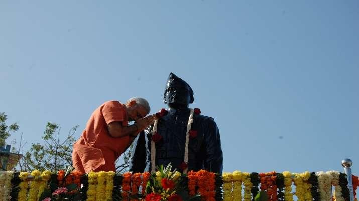 """May the thoughts and ideals of Netaji Subhas Chandra Bose"