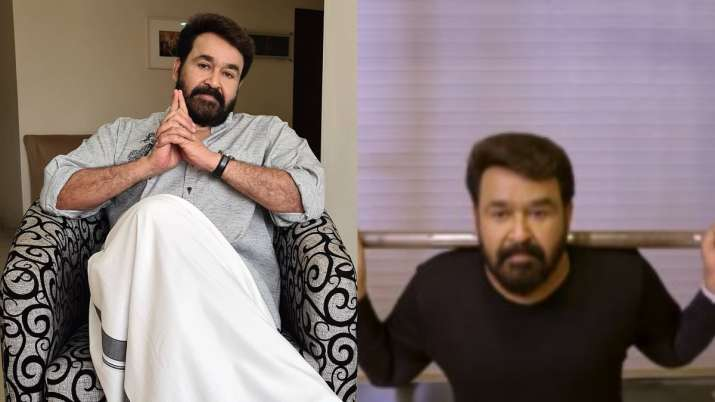 Mohanlal's latest workout video comes with a lesson: Follow a healthy habit
