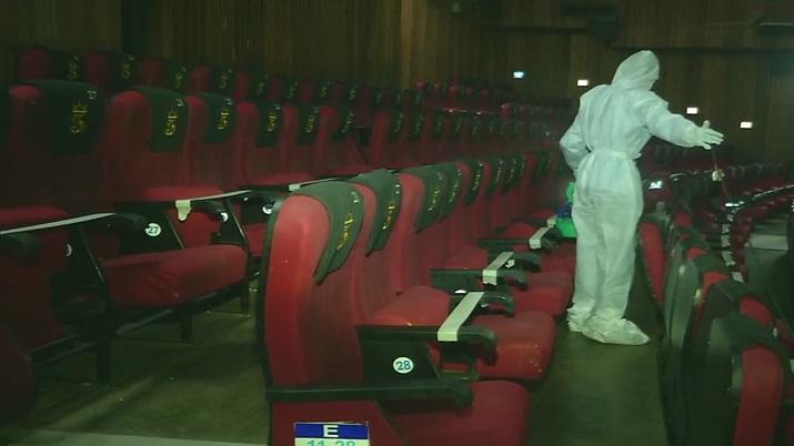 Cinema theatres reopen in Kerala
