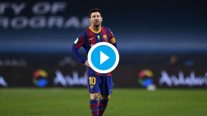Watch: Lionel Messi sent off; Athletic Bilbao beat Barca to lift Spanish Super Cup thumbnail