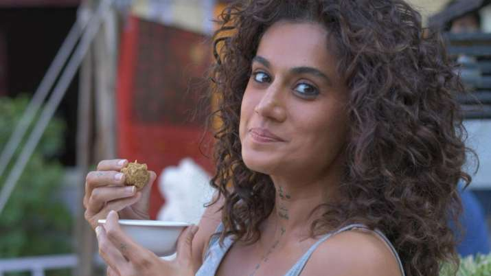 For Taapsee Pannu, 'laddoos' work more than protein bars and here's proof