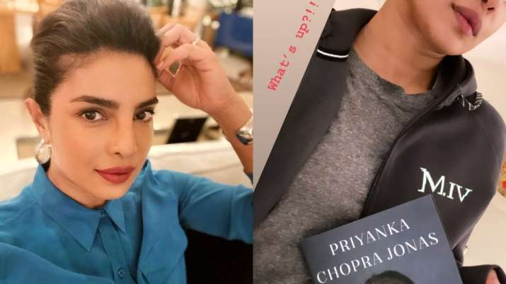 Priyanka Chopra Jonas becomes 'updo expert', shares glimpse of first copy of Unfinished