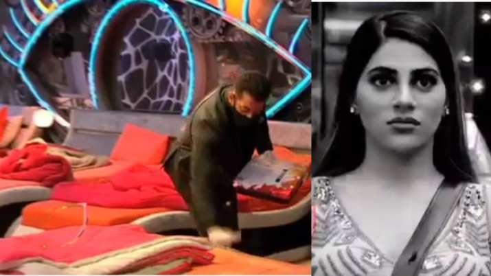 Salman Khan, Rakhi Sawant, Nikki Tamboli