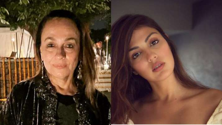 Soni Razdan backs Rhea Chakraborty on Twitter, says is 'innocent victim of a very twisted design' thumbnail