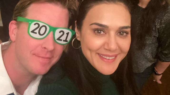 Preity Zinta gives sneak peek into her New Year 2021 bash