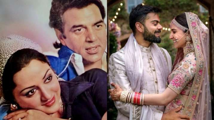 From Dharmendra, Hema to Anushka, Virat Bollywood's hush hush wedding affairs