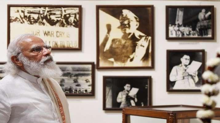 PM Modi, Victoria Memorial Hall, Subhas Chandra Bose, Subhas Chandra Bose, Netaji