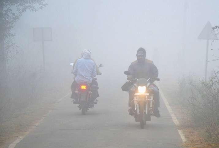 north india fog