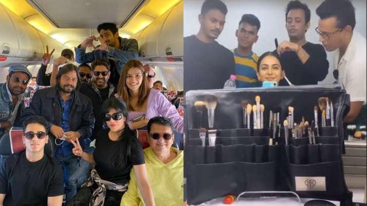Rakul Preet Singh resumes shoot of 'MayDay,' Kriti Sanon kickstarts 'Bachchan Pandey'