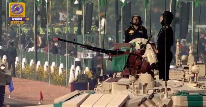 India Tv - The main battle tank of the Indian Army, T- 90 Bhishma, which is commanded by Captain Karanveer Sing