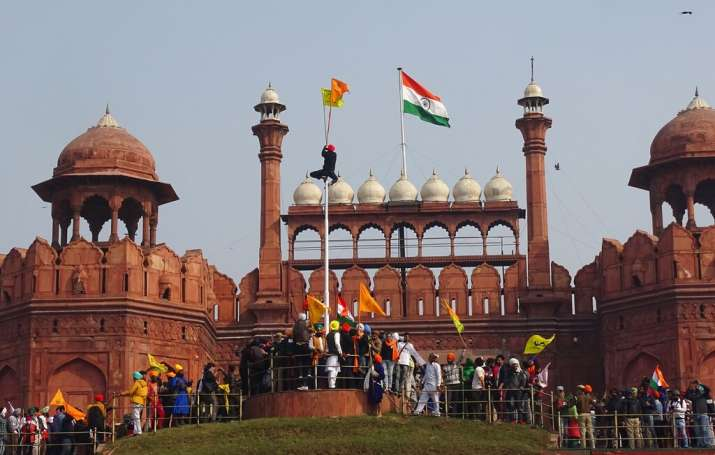 Red Fort breached, violence galore: How farmers' tractor