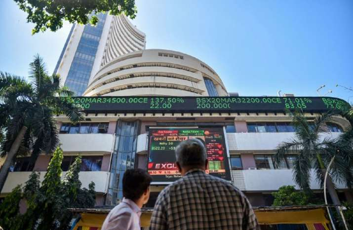 Sensex jumps nearly 300 points in early trade; Nifty tops 14,100
