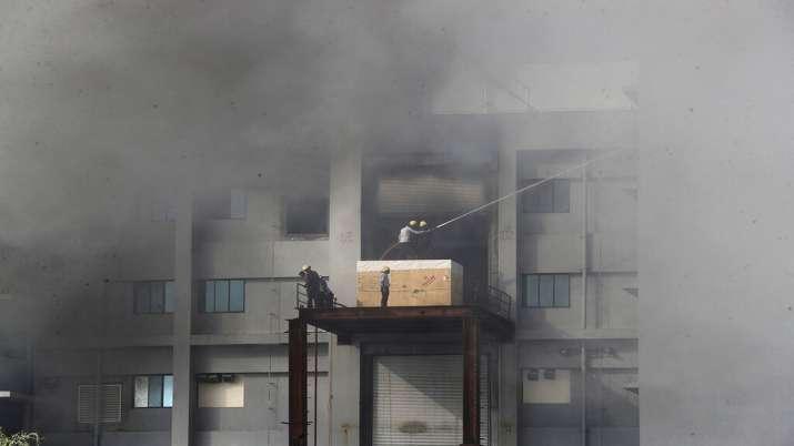 India Tv - Serum Institute Fire
