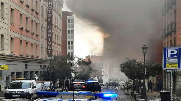 Spain madrid blast, BREAKING