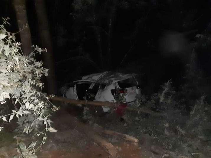 Shripad Naik, Shripad Naik accident, Union minister Shripad Naik car accident.