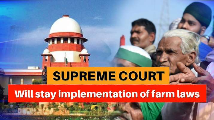 farm laws supreme court hearing